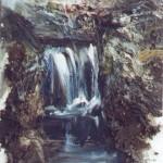 02.Vízesés, 1997, 43x37cm