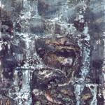 11.Vízesés kígyóval II., 2000, 225x125cm