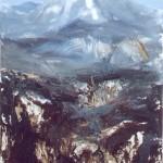 13.Fehér csúcs, 2001, 160x100cm