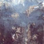 14.Kristály-hegy, 2001, 180x90cm