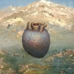 28.Athanor és Retorta, olaj, vászon, 60x40cm, 2006-07