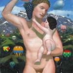 45.Hermész a gyermek Dionüszosszal