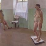 Aktrajzolás o.v. 80x100cm 1984