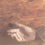 Baranyay  András Kis kéz barna háttérrel