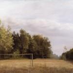Falusi focipálya  o. v. 80x100 cm 1982 (1)
