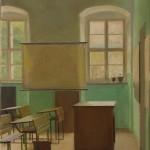 Iskola o.v. 50x13 cm 1982
