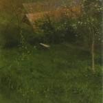 Vázlat tavasszal  o.v. 80x80cm 2008