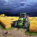 6_búzamező varjakkal és traktorral
